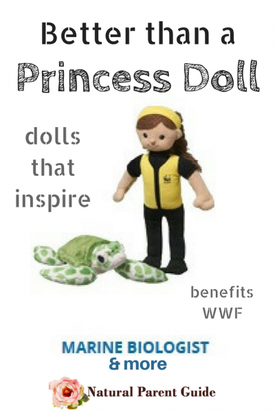 Better than a princess doll, Dolls inspired by real life heros | dolls for a cause | WWF | best toys | best dolls of 2017 | gifts for girls | gifts that give back | best birthday gifts for girls