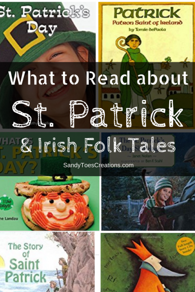 Learn the history of St. Patrick's Day, who was St. Patrick? Why do we celebrate in America? And other Irish Folk Tales History and Irish Tradition | holidays | homeschool history | childrens books | picture books | history books