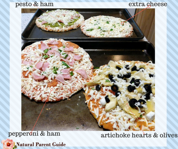 personal gluten free pizzas | family pizza night gf gluten-free pizza