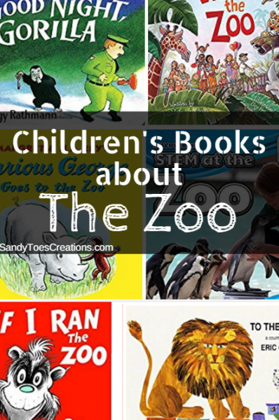 Books for kids about the zoo #wtrw Childrens books What to Read