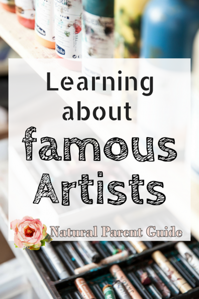 Books for kids to learn about famous artist | art history | learn about great artists | childrens books | homeschool art learning