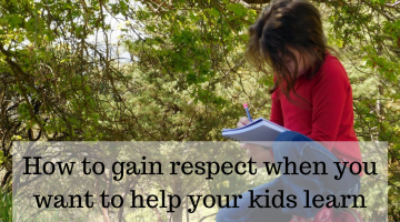 How to Gain Respect as Your Child's Teacher