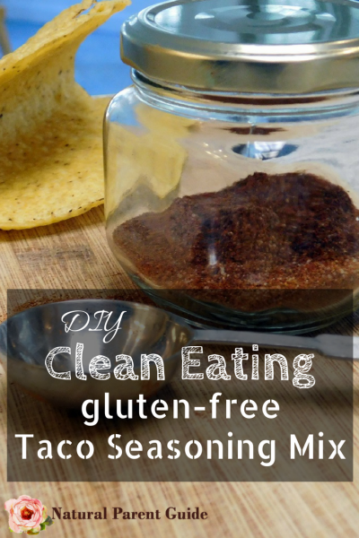 diy home made Clean eating taco seasoning mix | gluten free tacos | gluten-free recipes | diy seasoning mix | healthy foods | natural recipes | organic taco recipe