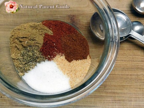 diy gluten free taco seasoning mix