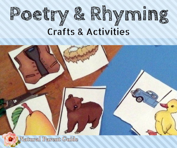 Poetry and rhyming crafts and activities