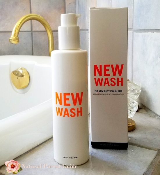 New Hair Organic Hair Wash