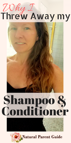 Why I threw away my shampoo and conditioner! You can have beautiful natural hair, too! Organic hair care, chemical free hair | natural hair products | chemical free living | green living tips | healthy hair remedies | natural beauty #takeashowerwithus #sposored