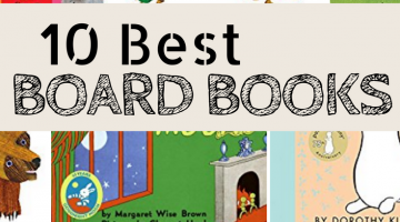 Ten Best Board Books for Toddlers