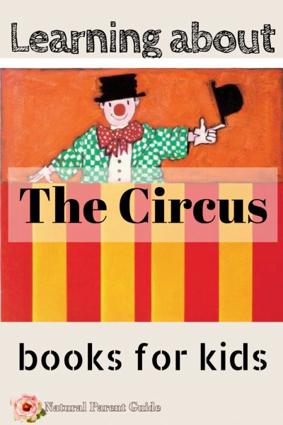 Kids Fun Books about the Circus | books for kids | childrens books | preschool books | bedtime stories | circus books | picture books |
