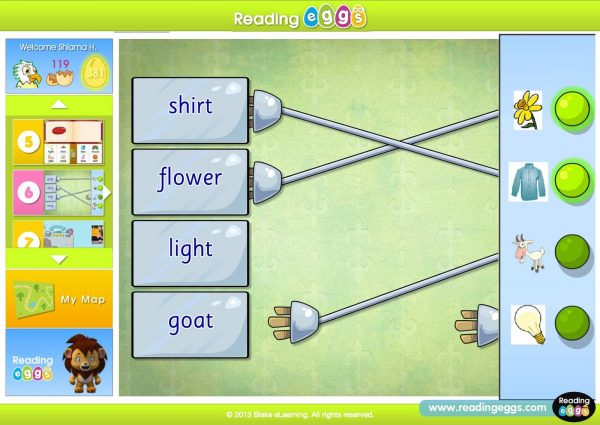 Reading Eggs Online Reading game online reading program