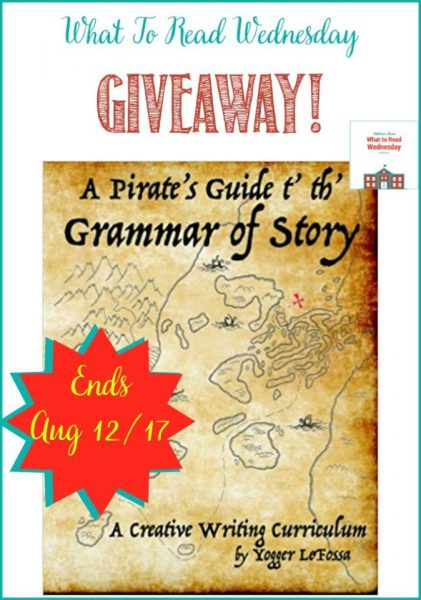 giveaway Pirate Guide t' th' Grammar of Story