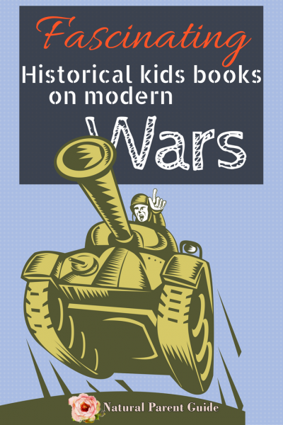Teaching modern time war in homeschooling can be a tough subject. These are fascinating kids books on modern wars. | homeschool history | history curriculum | modern time history books for kids | unschooling history