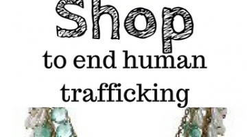 Shop for a Cause- Beautiful Jewelry to End Human Trafficking