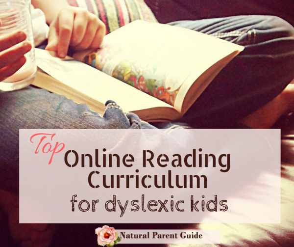 Top Online Reading Curriculum for Dyslexia | teaching dyslexic kids |