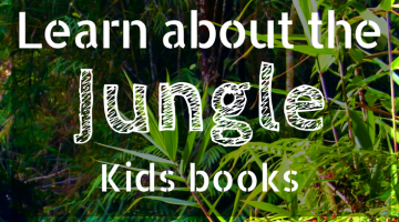 Learn About the Jungle Childrens Books