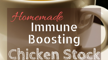 Homemade Immune Boosting Chicken Stock Recipe