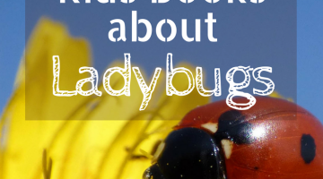Teach your kids about some bugs that are good for your garden! Your ladybug lover will love these kids books all about ladybugs. | homeschool natural science | gardening with kids | educational books | early readers | childrens books