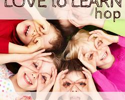 Love to Learn Blog hop badge