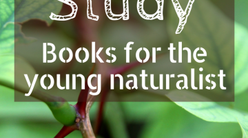 Top Nature Study Books for the Young Naturalist   homeschoolling   forest schooling   kids books   nature books   nature crafts and nature activities   gifts for kids   gifts for teens  