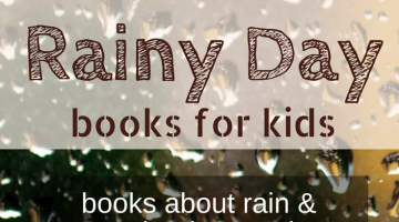 Kids books for a rainy day | enjoy stories about rain and learn about weather with these kids science books | natural science homeschool | homeschooling | childrens books | homeschool science | rain books