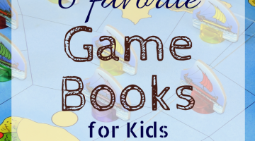6 favorite game books for kids